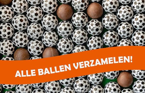 Chocolade voetballen EK 2021 - relatiegeschenk