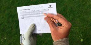 Golf bloeipotlood